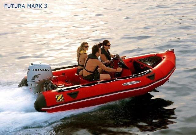 zodiac - futura mark 410 FR - nafukovací motorové čluny