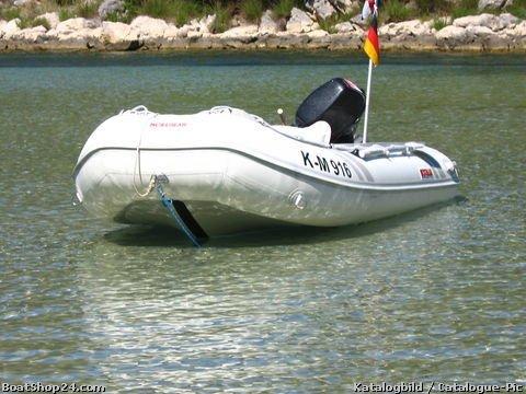 suzumar DS 350 VIB nafukovací V-kýl+stabilizační plocha - nafukovací čluny motorové