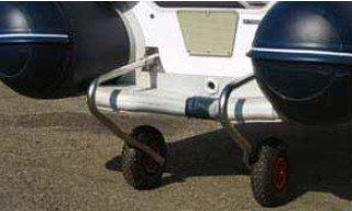 kolečka na čluny VIB s nafukovací podlahou