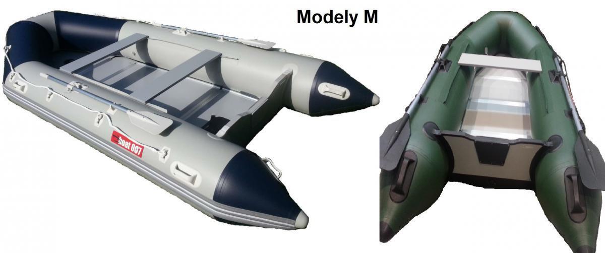 M250 - Nafukovací čluny boat007 šedomodrý