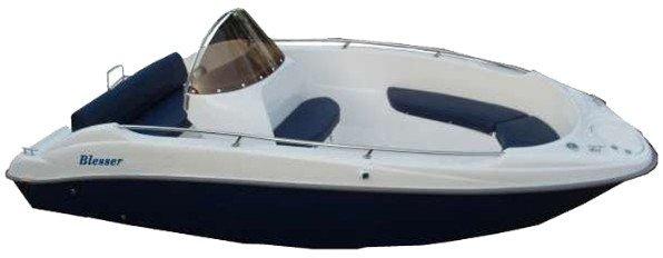 blesser 505 - laminatovy člun