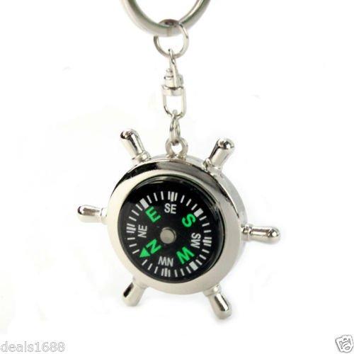 přívěsek kormidelní kolo s kompasem