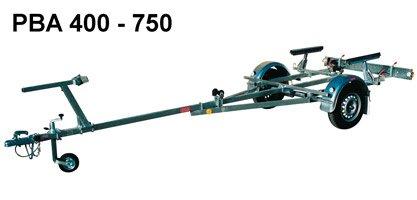 PBA 300 - vleky - přívěsy pod lodě a čluny