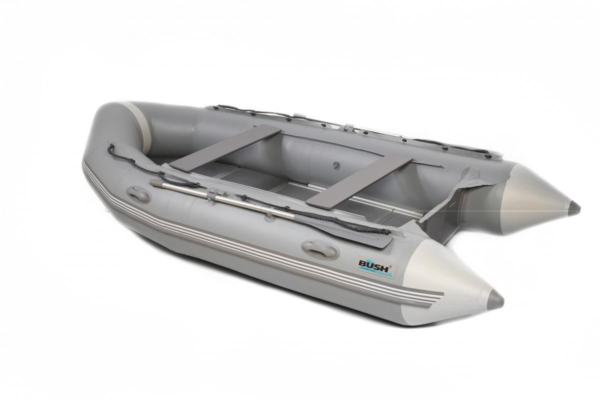 Skate 380 Bush motorové nafukovací čluny-pevné skládací dno+nafukovací kýl