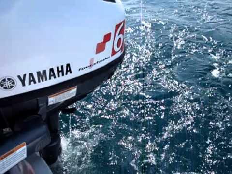 Lodní motor Yamaha F 6 CMHS - krátká noha
