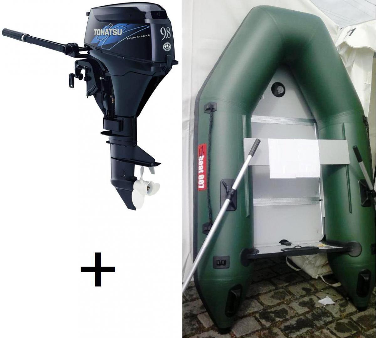 Nafukovací člun M360+Lodní motor Tohatsu MFS 9.8 A3 S