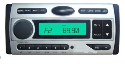 Vodotěsná rádia - Marie - DVD, CD, MP3, USB, dálk. ovladač