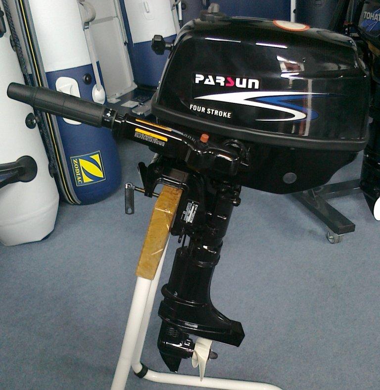 тесты мотора parsun