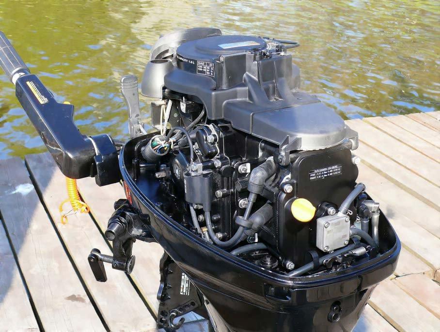 ремонт лодочных моторов парсун